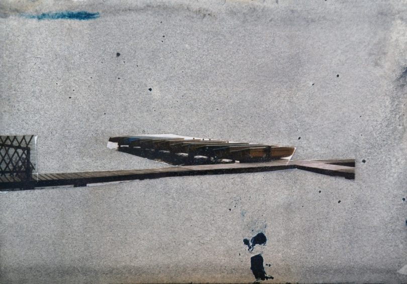 An invisible world #6, mixed media on paper, 11x15 cm, 2011
