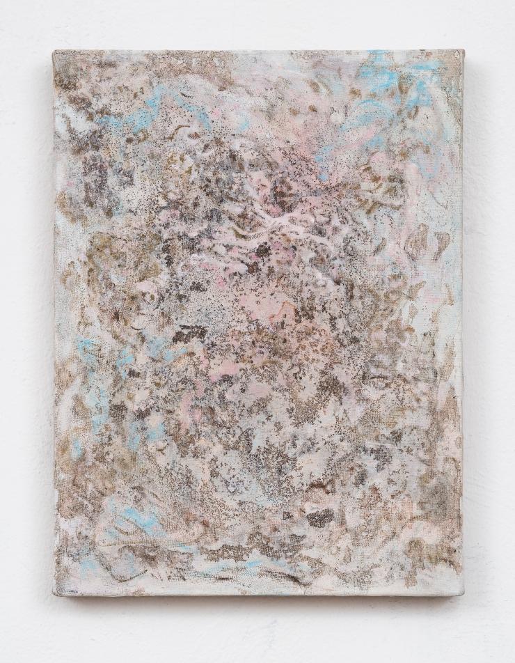 Nausica, mixed media on canvas, 40x30 cm, 2018